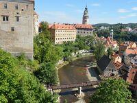 チェスキークルムロフは街全体が世界遺産