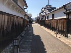 大阪の富田林寺内町の古い町並みを歩く