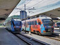クロアチア・スロベニア鉄道の旅(その5 リュブリャナからローカル列車でアドリア海のコペルへ ポストイナ鍾乳洞も)