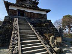 立山連峰を眺めてから丸岡城へ