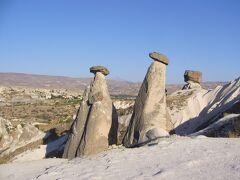 トルコ 絶景と歴史を感じるの旅 その1 カッパドキア ギョレメ付近編