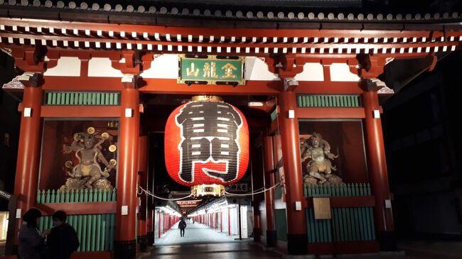 友人の後輩が東京に住んでいるのに、雷門を見たことがない、というので、友人と3人で社会科見学した3月。地下鉄銀座線で終点浅草駅に降りる。電燈も提灯を思わせる和風な感じ。仲見世も半分以上は開いているものの、人通りは少ない、「あの賑わい」には程遠い。そして何もよりも残念だったのは、金龍山の切り山椒が買えなかったことであった。