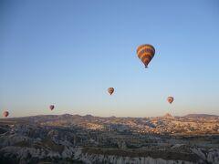 トルコ 絶景と歴史を感じるの旅 その3 カッパドキア 気球でふわふわ編