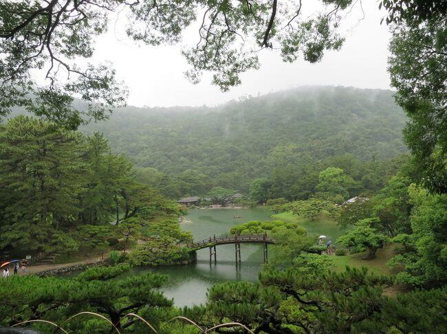 JALのマイルがたまったので、7月の3連休「どこかにマイル」にチャレンジしたら、高松空港になりました。高松と言えば栗林公園ですが、20年ぶりの訪問でも新鮮で、素敵な散歩ができよかったです。
