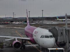 2021年3月北海道鉄道旅行9(ピーチ462便でセントレアへ)