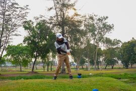 タイで27回目のゴルフ 久しぶりのAIT GOLF CLUB