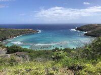 2021.2【ハワイ】ハナウマ湾を上から見るハナウマベイリッジトレイル