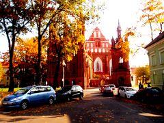 秋のバルト三国美しき古都と城を訪ねてNo.2<リトアニアの首都ヴィリニュス散策>
