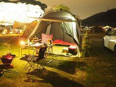 笠置で花見ソロキャンプと柳生探訪(その2)