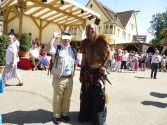 ドイツ2012年・麗しの5月:エッティンゲン侯爵家の町は中世祭りで大賑わいだった。