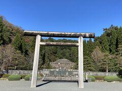 八王子:都立陵南公園から武蔵陵墓地