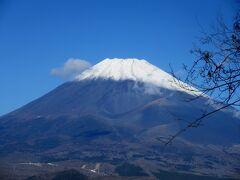 南から見る富士山 愛鷹山