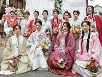 漢服撮影会もとい花神巡游節です。