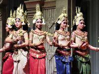 2019年12月 カンボジア 3日目 シェムリアップでランチと,夕食はアプサラダンスショーを見る