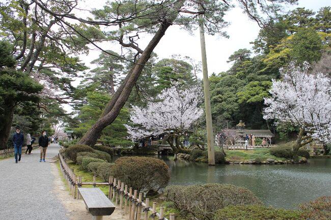 行こう行きたいと思っていた金沢。<br />時間ができたので思いつきのまま行ってきました。<br />観光よりもグルメに傾いているかな。