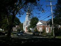 マサチューセッツ州ケープコッド サンドイッチ - 歴史あるカワイイ町を散歩