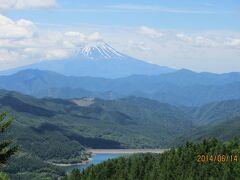 富士山を見る山行シリーズ 大菩薩峠