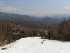 結婚記念日は裏磐梯グランデコへ。その2 春スキーを楽しみました。