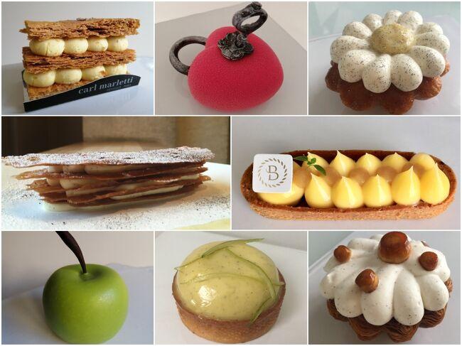 三度の飯よりケーキが好き。そんな筋金入りの甘党にとって、スイーツショップの激戦都市パリはまさに楽園。<br /><br />何気なく存在する街角のパン屋でトビキリ美味しいケーキが見つかることもありますが、一流のパティシエが作るスイーツはまた格別。エレガントな味わいは五感を魅了し、至福の時へといざなってくれます。<br />パリでもコロナの感染拡大が日々重大化し、外出可能エリアは自宅から半径10㎞圏内に制限されるなど明るいニュースはあまりありませんが、美味しいケーキのことを考えていると気持ちが上向きます(単純)。<br />そこで大好きな極上ケーキ屋ベスト5を、独断で選んでみました。<br /><br />1位 カール・マルレッティ Carle Marletti<br />2位 アルノ・ラクロワ Arnaud Lacroix<br />3位 セドリック・グロレ Cedric Grolet<br />4位 ヤン・クヴルール Yann Couvreur<br />5位 ボリス・リュメ Boris Lume<br />