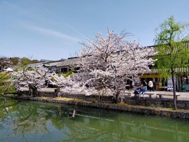 4日目は岡山県の観光です。<br /><br />まずは倉敷美観地区を散策します。