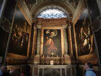 """初めてのローマ その24(イタリア・スペイン・ポルトガル・オランダ 12日間の旅 その4-24)""""フランチェージ聖堂"""" のカラヴァッジョ!"""