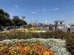 「よこはま花と緑のスプリングフェア2021」で、花のお散歩