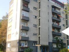 ザグレブ・バスターミナル至近の民泊 Butterfly Apartment