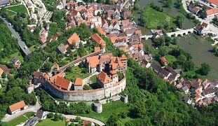 ドイツ2012年・麗しの5月:難攻不落の名城Die Harburgディー・ハールブルク城に泊まる。