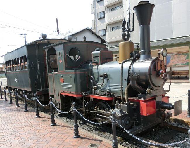 もう早くも懐かしく感じてしまいそうな、令和になったばかりの連休のころの旅の様子です。<br /><br />四国・愛媛は松山市内を、伊予鉄道の電車で巡った結果、ついに、伊予鉄道の郊外線(郊外電車)、市内線(市内電車)に全部乗ったのでした。<br />これで、松山市内の全部、とはいわないけれども、相当の区間を巡った、つもり。<br />観光スポットなどにはあまり行っていなかったり、行っていても画像がありませんが。<br /><br />連休のさなかということもあってか、道後温泉駅が非常に賑やかで、観光地の感じにあふれ、これが松山市内なのか、とちょっと驚いたりして。