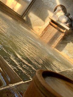 掛け流し温泉