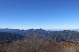 360度の大展望 秩父城峰山