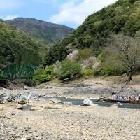 ◆保津川舟曳道を辿るトレッキングの旅◆その1