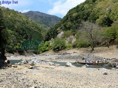 ◆保津川舟曳道を辿るトレッキングの旅◆  その1