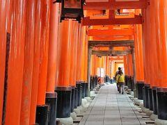 インバウンドが、全然いない京都伏見稲荷大社 嵐山散策と竹林の道。和服で訪れたい京都観光