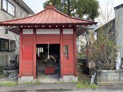 玉ノ井稲荷神社へ