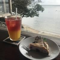 海カフェでまったり 沖縄ひとり旅