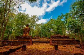 タイの遺跡を全部巡るつもりが、コロナの影響で北部だけで終わってしまった旅 その8 カムペーンペット歴史公園を堪能