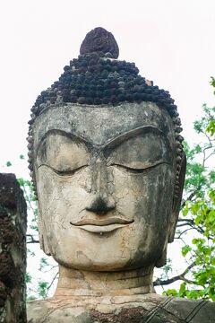 タイの遺跡を全部巡るつもりが、コロナの影響で北部だけで終わってしまった旅 その11 朝イチで遺跡見学