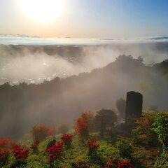 朝活!越生でも雲海は撮れる(正しくは朝もや)☆ 埼玉県:越生町と鶴ヶ島市