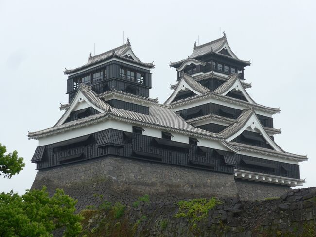 熊本地震(2016年)から5年が経った熊本城を訪れました(*'-')ノ