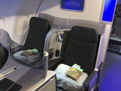 2021年4月 初 Ft. Laudandale旅行記 その1 JetBlue Mint 搭乗記
