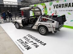 リサイクル燃料で走る世界で1台のデロリアン
