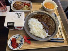 JAL農家レストラン 御料鶴でラウンジカレー・JALアグリポート いちご狩り