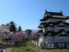 弘前公園 満開の桜 おまけで北海道新幹線と函館観光