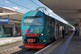 北東イタリア鉄道の旅(その5 ヴェネツィアからローカル列車で巡る世界遺産の街ヴィチェンツァ)