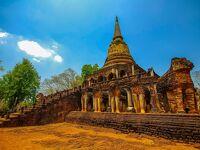 タイの遺跡を全部巡るつもりが、コロナの影響で北部だけで終わってしまった旅 その22 水分補給で復活、まだまだ続く遺跡巡り