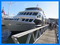 JALファーストクラスでシドニー(10)シドニー湾ディナークルーズとダーリングハーバーの花火