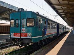 北東イタリア鉄道の旅(その7 ヴェネツィアからローカル列車で巡る堀と城壁で囲まれた丸い街チッタデッラ)