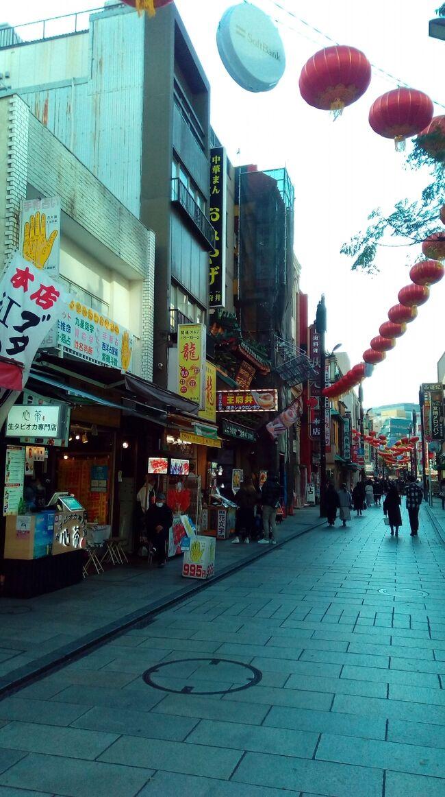今日も中華街に訪問です。JR関内駅から徒歩で中華街に向かいました。<br />いつも通りにメインの大通りから狭い路地まで散策して、定番のお店でランチです。<br />残念ながら雨になってしまったので、暫く休憩をしてからJR桜木町まで1時間くらい散策しました。<br />その後、野毛エリア、伊勢佐木町商店街なども散策です。<br />伊勢佐木町商店街で最後に飲んで一日を終了しました。<br />今日は20キロくらい歩いたと思います。