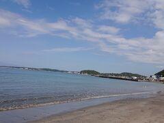 逗子葉山の海岸へ行きました